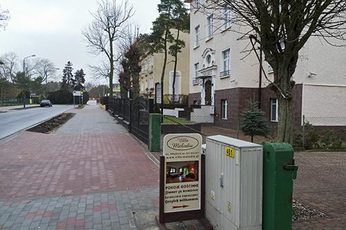 Pension Villa Melodia, Strassenansicht