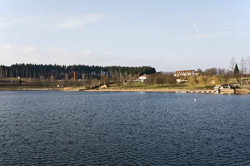 Der Stausse in der Gemeinde Losheim