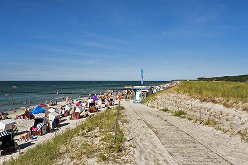 Strand Hohe Düne, Markgrafenheide