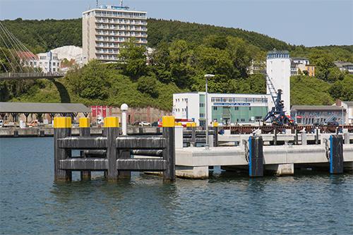 Hafengelände Sassnitz