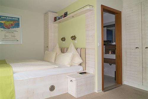 Hotel Rickmers Insulander, Helgoland, Zimmerbeispiel